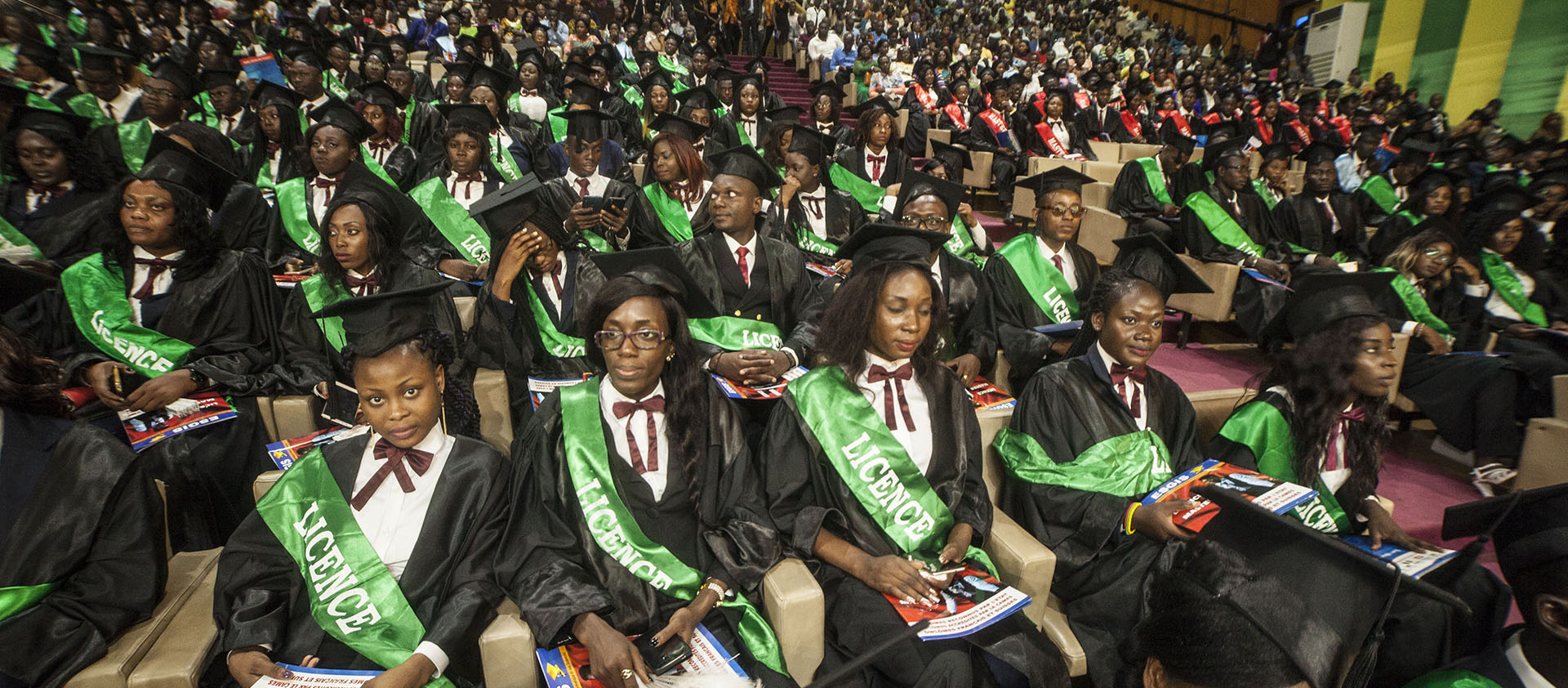 Grande cérémonie de remise de diplômes Licence et Master de l'ESGIS - 2018