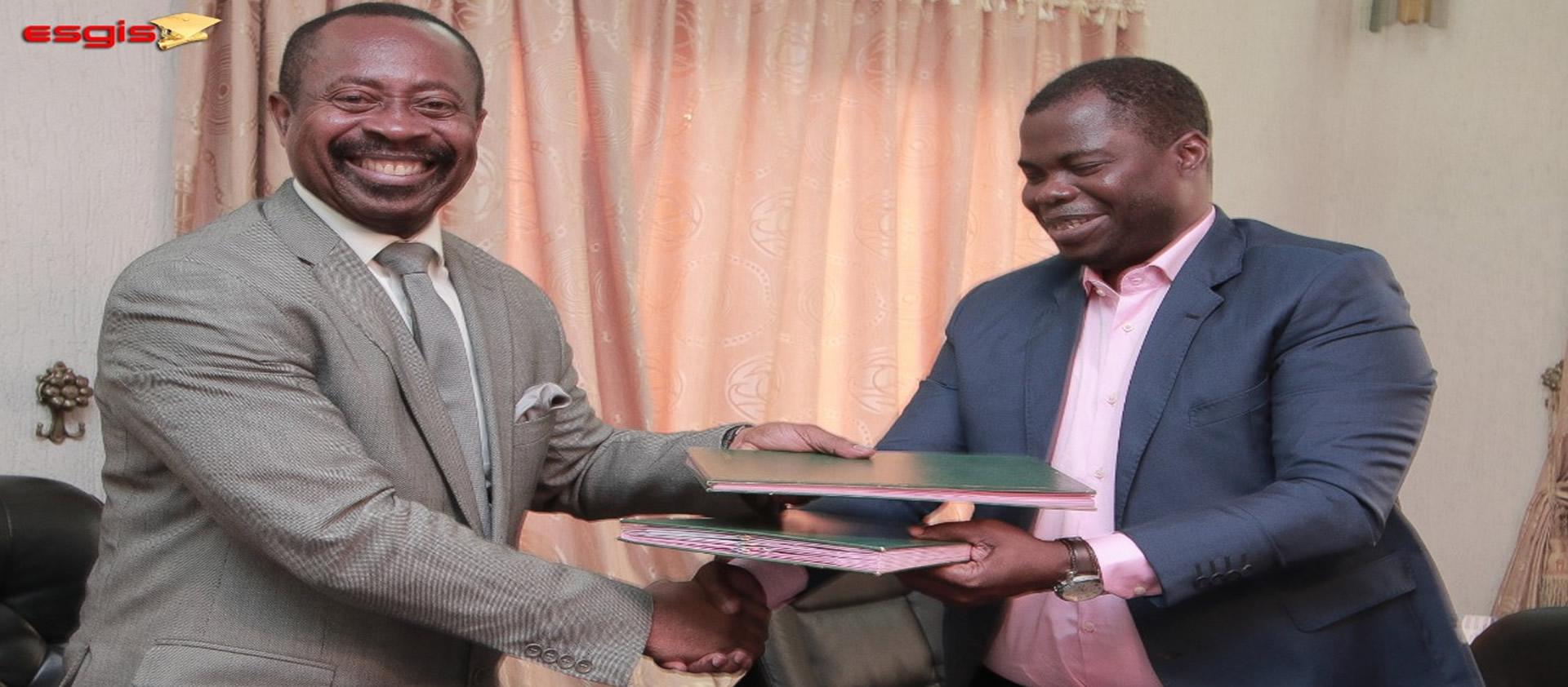 Signature d'une convention de partenariat entre ESGIS et la société SUDCOM
